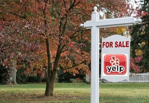 Real Estate Yelp Sign